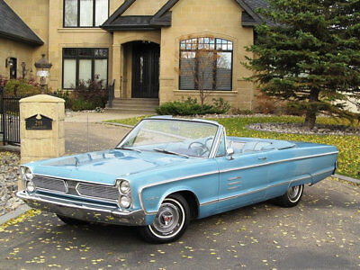 1966 Plymouth Fury NO RESERVE NO RESERVE 1966 PLYMOUTH SPORT FURY CONVERTIBLE MATCHING NUMBERS TRIPLE BLUE GEM