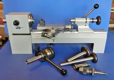 Fabulous Levin Ball Bearing Watchmakers or Instrument Lathe with Collets