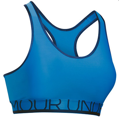Under Armour Womens Mid-Impact Padded Sports Armour Bra NWT