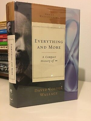 David Foster Wallace - Everything and More - First edition First printing NF