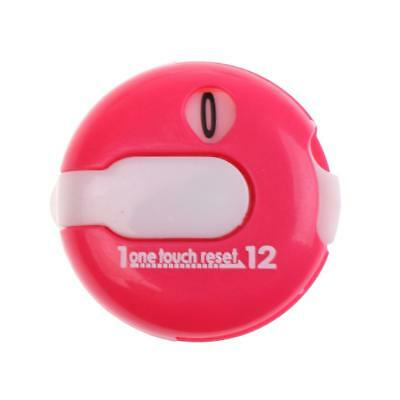 Golf One Reset Counter Clip On Golf Stroke Score Counter Pocket Size Pink
