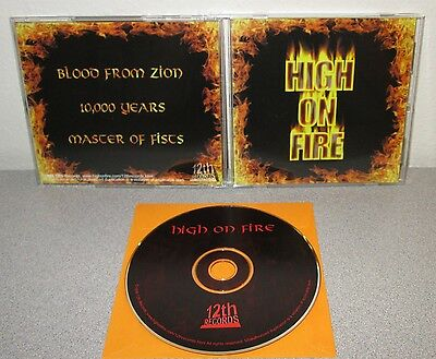 HIGH ON FIRE S/T 1999 CD EP 12th Records Matt Pike Des Kensel George Rice Sleep