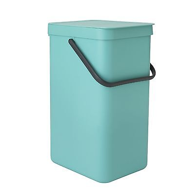 Brabantia 16 Litre Sort and Go Waste Bin - Mint. From the Argos Shop on V100087