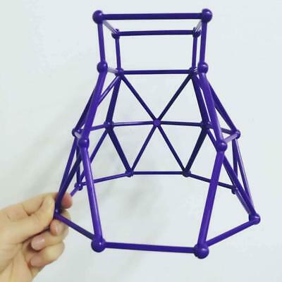For Finger Monkey Jungle Gym Playset Interactive Baby Monkey Climbing Stand Blue