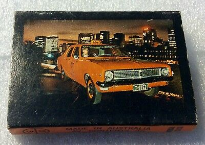 Holden Matchbox. Yellow Cab Co. Vintage Holden Taxi.