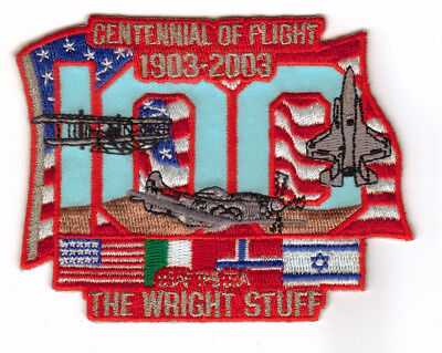 USAF Test Pilot School TPS Class 03A Patch Flown Patch