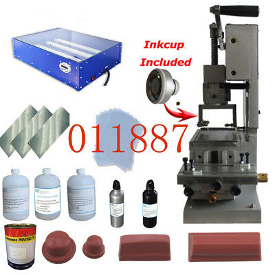 Easy Operate: A Full Set of Printing Plate Combination, Manual Pad Printing Kit