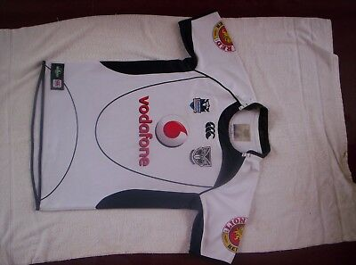 NRL Auckland Warriors Rugby League Jersey / Guernsey ( Size L )  + Banner
