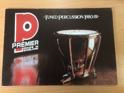 Premier Tuned Percussion Catalogue 1980/81