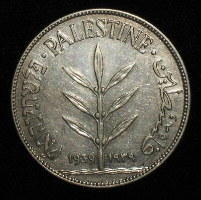 1939, 100 Mils from Palestine.  No Reserve!