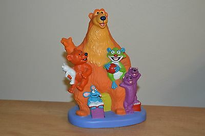 Bear in the Big Blue House Piggy Coin Bank Disney Store Jim Henson