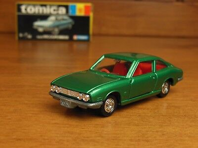 Tomica 10 ISUZU 117 COUPE old wheels, Made in Japan vintage pocket cars Rare !