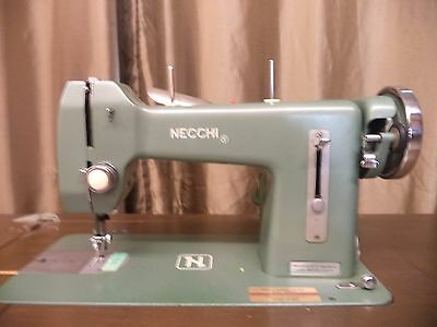VINTAGE NECCHI BF Mira Sewing Machine With Cabinet No Reserve Inspiration Necchi Bf Mira Sewing Machine