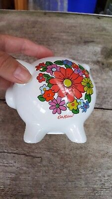 CATH KIDSTON small floral  PIGGY BANK /  MONEY BOX