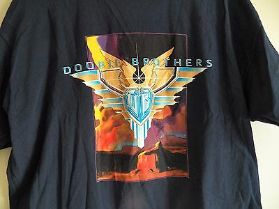 Vintage The DOOBIE BROTHERS Sibling Rivalry 2001 Tour Mens XL Concert T-Shirt