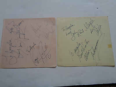 Robin Cousins Dancing On Ice Cast Autographs Bristol 1985