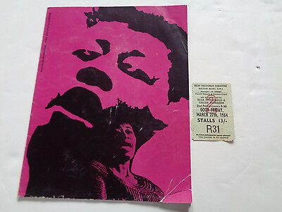 Ella Fitzgerald And Oscar Peterson Uk Concert Programme And Ticket 1964
