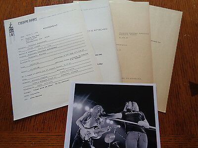 Lynyrd Skynyrd Concert Booking Slips Pensacola Florida To Ronnie Van Zant