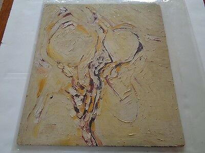 Jethro Tull   An Original Abstract Oil Painting By Ian Anderson Circa 1968