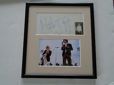 Rolling Stones Autograph Mick Jagger Cologne Germany 1967 + Candid  Photo