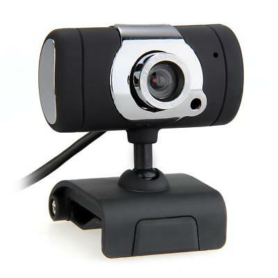 USB Web Cam Built-in MIC Webcam Camera for Desktop PC Laptop Black A855 ZW