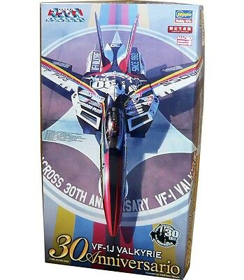Hasegawa 1:72 Macross VF-1J Valkyrie 30th Anniversary Coating Version Model Kit