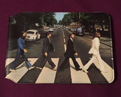 The Beatles Abbey Road Official Card Holder Wallet as new