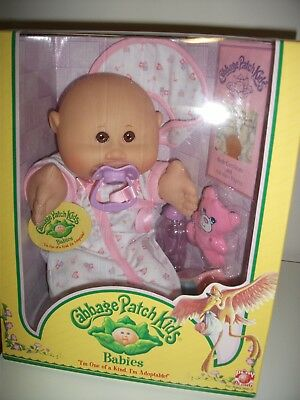NEW 2005 Play Along Cabbage Patch Kid 'Babies' Baby Girl + Dummy & Accessories!