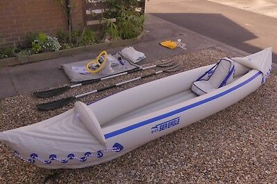 Sea Eagle Inflatable Kayak - SE 370 Pro. Unused bargain