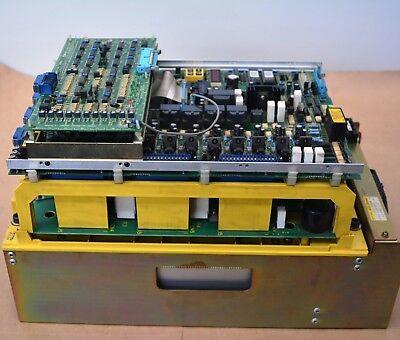 Fanuc AC Spindle Servo Amplifier Drive Unit A06B-6059-H206 #H511