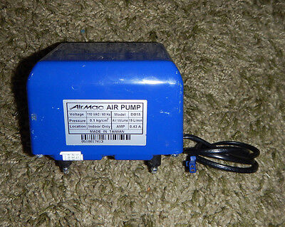 Air Mac Air Pump DB15 110V 0.43A Linear Diaphragm