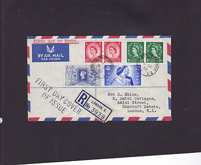 1952 QEII First Day Cover F.D.C definitive (5 12 52) - Eastern District postmark