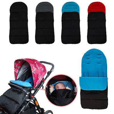 Universal Footmuff Cosy Toes Buggy Pushchair Stroller Pram Baby Toddler Us Post