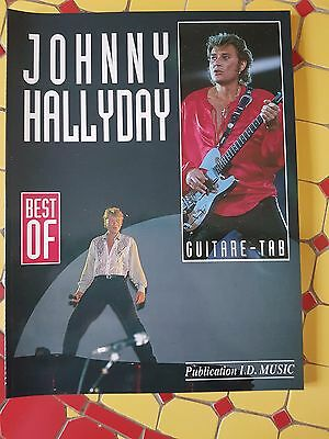 Johnny Hallyday - partition  - Best of