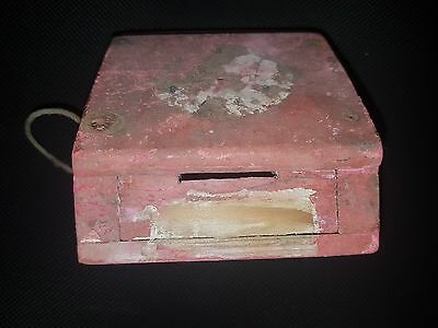 Judaica Klinger Bank Money Saving Box &thousands Bank Documents Museum Item!!!