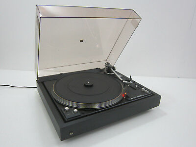 Dual CS 622 Plattenspieler Automatic Direct Drive / Turntable / schwarz