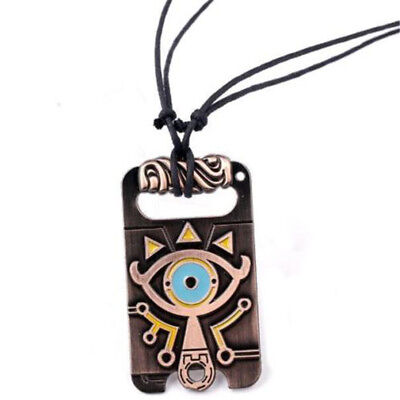 The Legend of Zelda Sheikah Slate Necklace Breath of the Wild Pendant Cosplay ♫