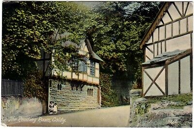 CALDY Nr. West Kirby (Wirral) Reading Room - 1908