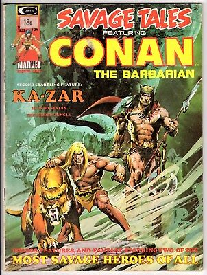 SAVAGE TALES featuring CONAN Volume 1 No 5 - MARVEL COMICS July 1974