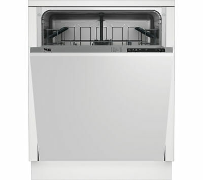 BEKO DIN15X10 Full-size Integrated Dishwasher with Digital Display / NEW & Boxed
