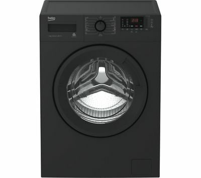 BEKO WTB841R2A 8 kg 1400 Spin Washing Machine - Anthracite / NEW & Boxed