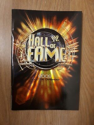 WWE Hall of Fame 2009 Induction Ceremony Official Programme - Steve Austin 3:16