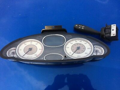 Rover 75 Dashboard Clocks Instrument Cluster Message Centre Display YAC004250