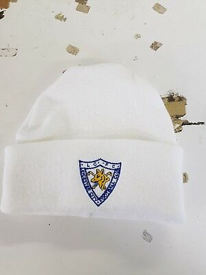 990571a93d31 Leicester City Retro style wooly Hat Beanie Hat The Foxes Blue Army