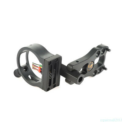TP1550 Compound Bow Sight 5 Pin with Light with 0.029'' Fiber For Hunting YSH3