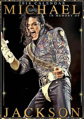 Michael Jackson 2018 A3 Calendar 15% OFF MULTI ORDERS!