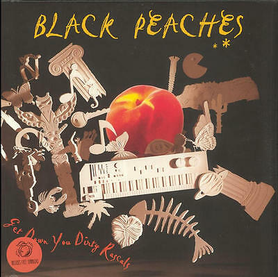 BLACK PEACHES Get Down You Dirty Rascals 2015 UK vinyl LP NEW/SEALED Hot Chip