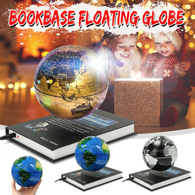 6'' Levitation Magnetic Rotate Globe Floating Levitating Earth Map Gift  Decor