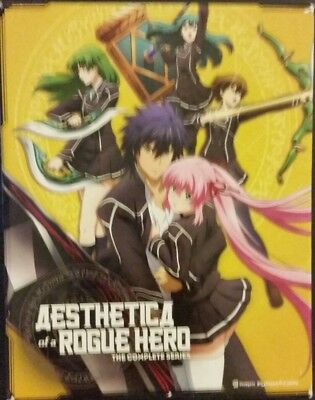 Aesthetica of a Rogue Hero: The Complete Series, Blu Ray/DVD. Pre-Owned Tested