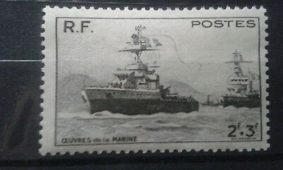 France 1946 Ships/Nautical/Navy/Naval Charities/Military/Transport.NUEVO.